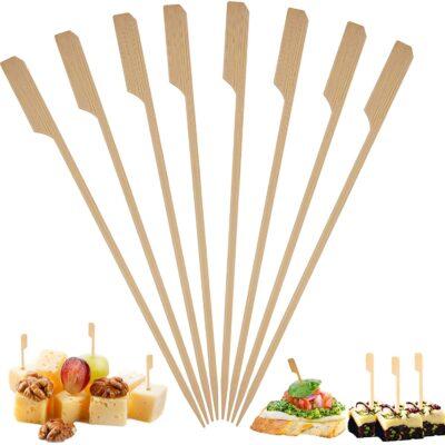 Pinchos Bambú – 9cm – Paquete de 25 unidades
