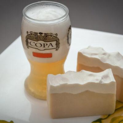 Jabón artesanal vegano – Cerveza y Karité – grande – Maita Porá