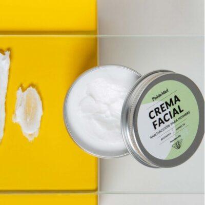 Crema facial multiacción hombre – Piel de Miel