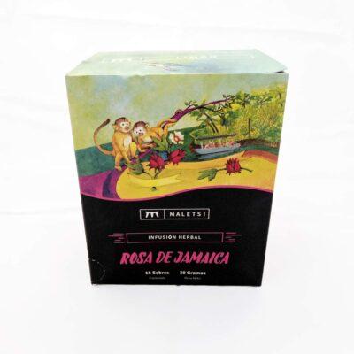 Té de infusión de flores de Costa Rica – Sabor Rosa de Jamaica – Provincia Limón