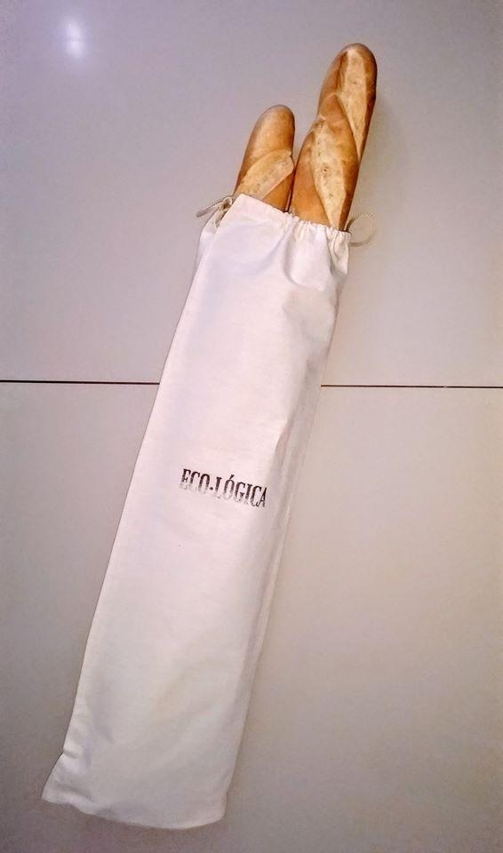 Baguetera – Bolsa para pan baguette – ECO-LÓGICA