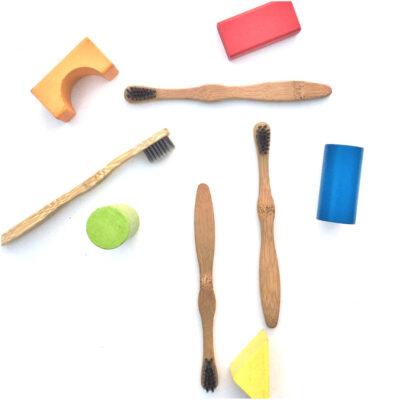 Cepillo de dientes de Bambú para niños – Go Green Bambú