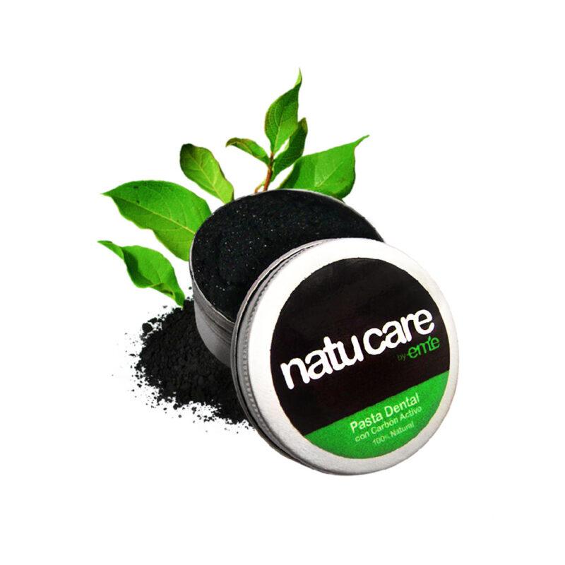 Pasta dental carbón activo – vegano y libre de gluten – Natu Care by Eme