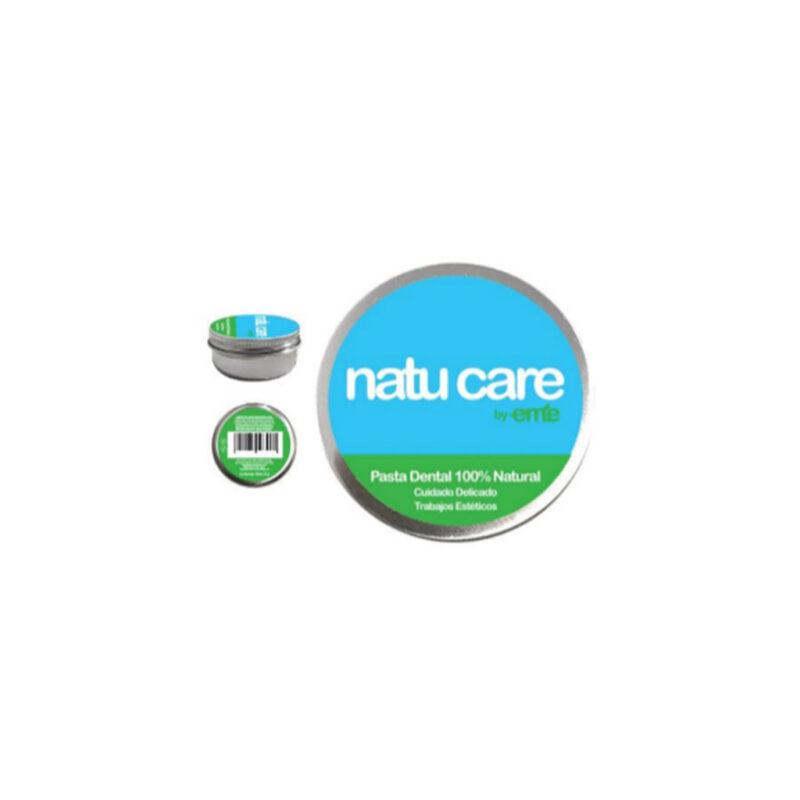 Pasta de dientes natural de Cuidado Delicado y Trabajos Estético – Natu Care by Eme