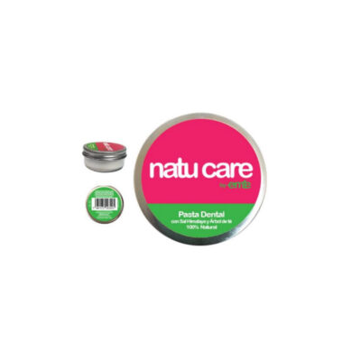 Pasta dental natural de Sal de Himalaya y Árbol de Té – Natu Care by Eme