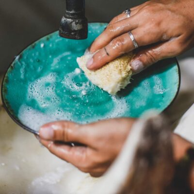 Esponja para lavar platos – Capuchino