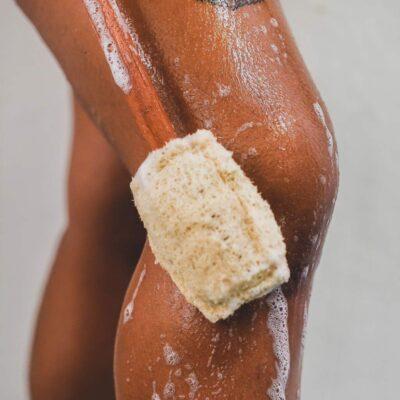 Esponja de baño para espalda – Capuchino