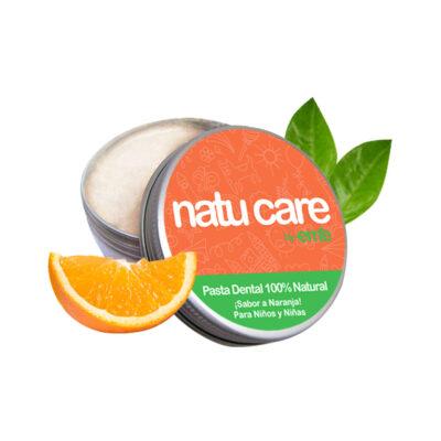 Pasta de dientes natural para Niños y Niñas sabor a Naranja – vegano 75g – Natu Care by Eme