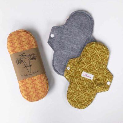 Kit de toallas flujo moderado – 3 unidades – Foemi