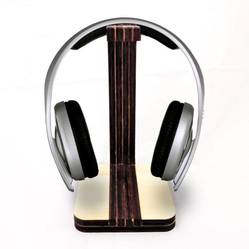 Estante para audífonos de escritorio