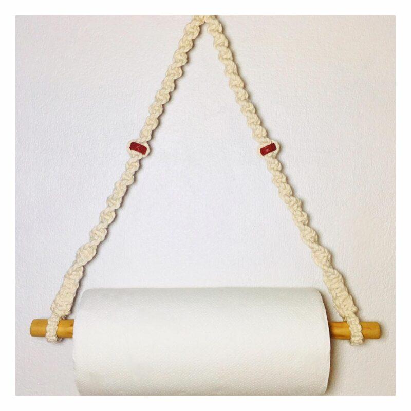 Toallero – 100% algodón – hecho a mano – Macrawoods