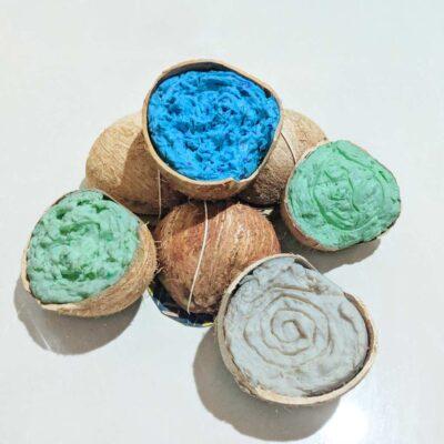 Jabón lavaplatos biodegradable – Coquitos de Amor – sólido 200g – Esencia de Luna