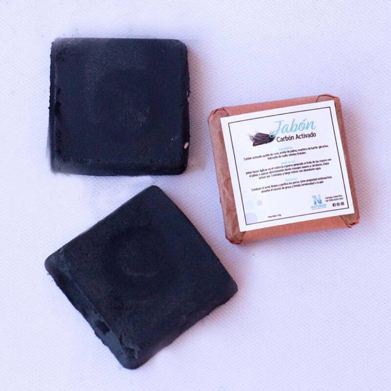 Jabón de Carbón activo para Caballeros – 110g – grande – Naturen