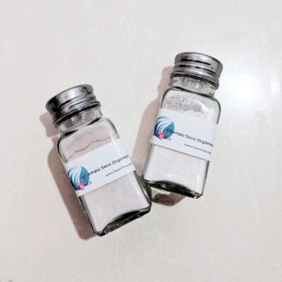 Champú seco orgánico en polvo con aplicador – anticaida y fortalecimiento – 35g