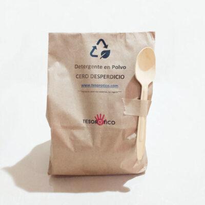 Detergente en polvo concentrado – Cero Desperdicio – 1kg hasta 60 lavados