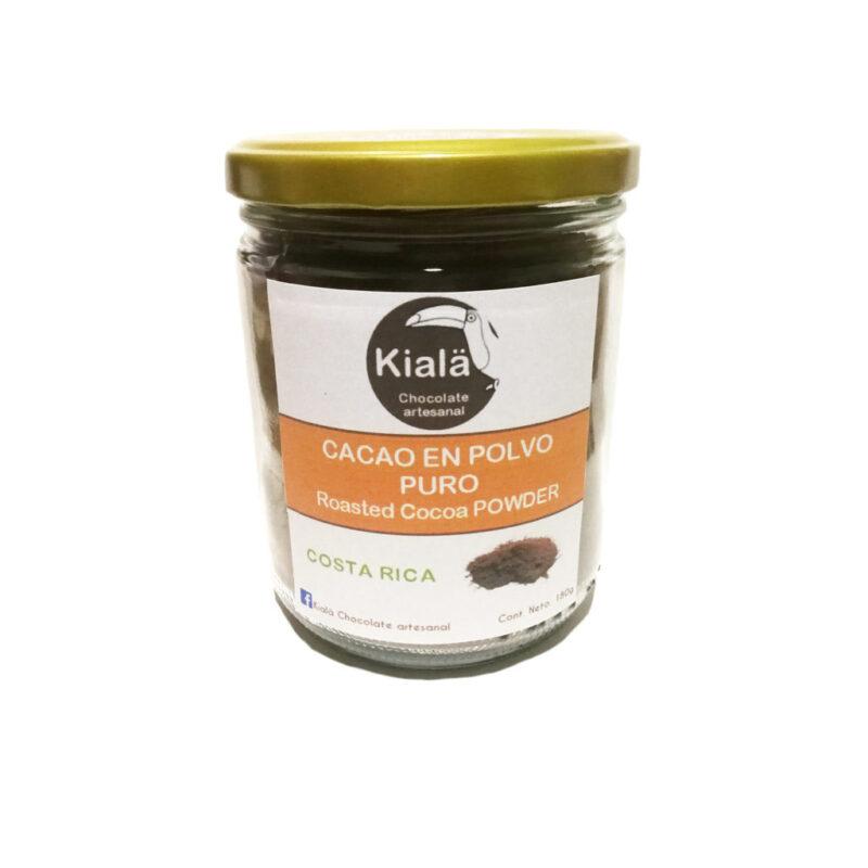 Cacao en polvo ecológico en vidrio – 180g – Kialä