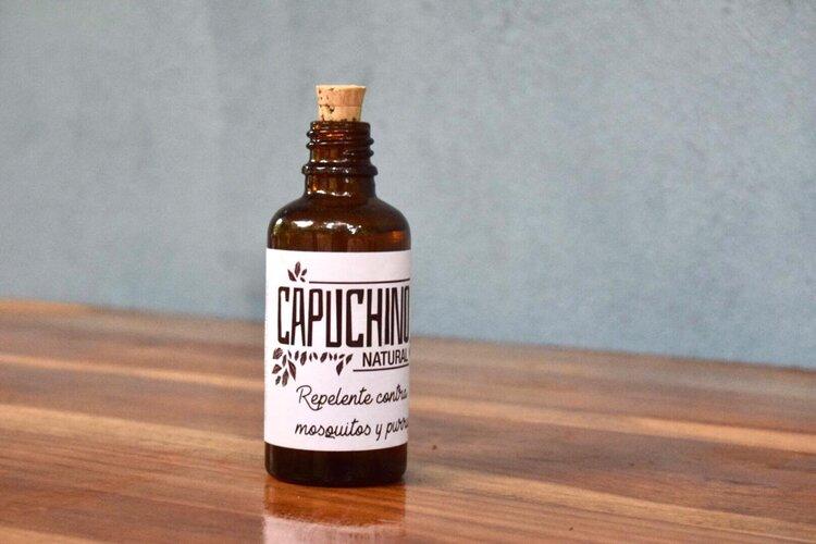 Repelente natural contra mosquitos y purrujas – 50 ml – Capuchino