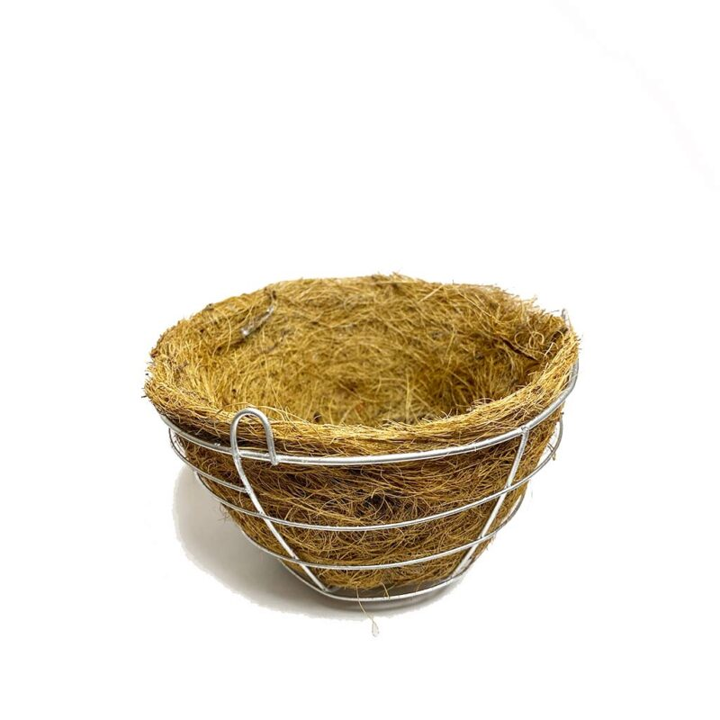 Maceta Colgante Natural de Fibra de Coco