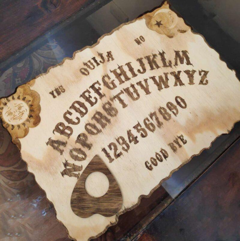 Juego de mesa Güija Ouija – aspecto rústico – Spirit Board