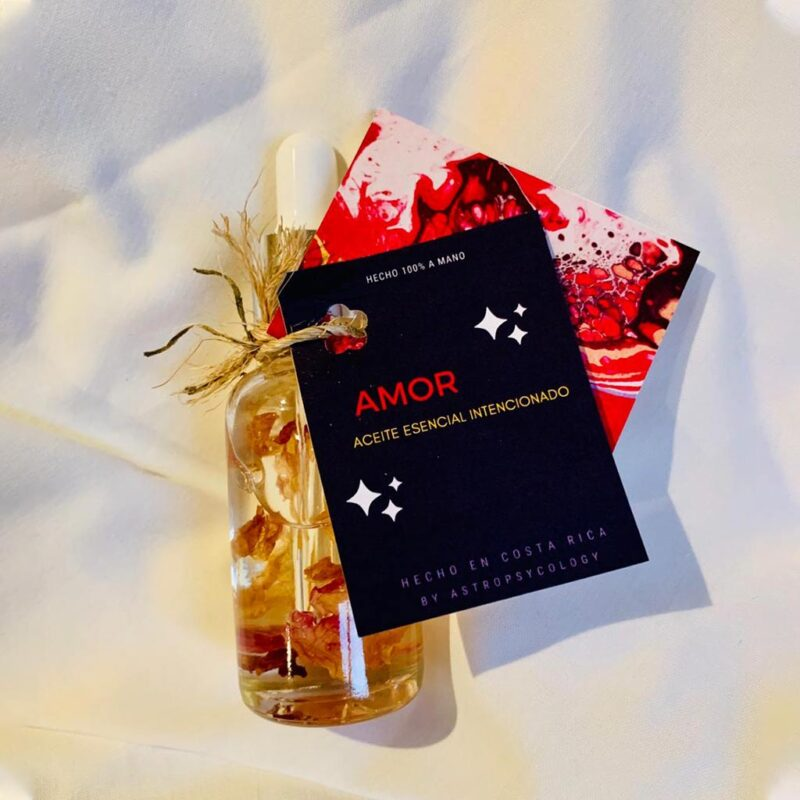 Aceite Esencial Intencionado – Amor – Astropsycology
