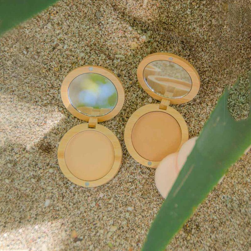Bloqueador solar en polvo compacto con color – 9g – SPF 30 – Sunspectra