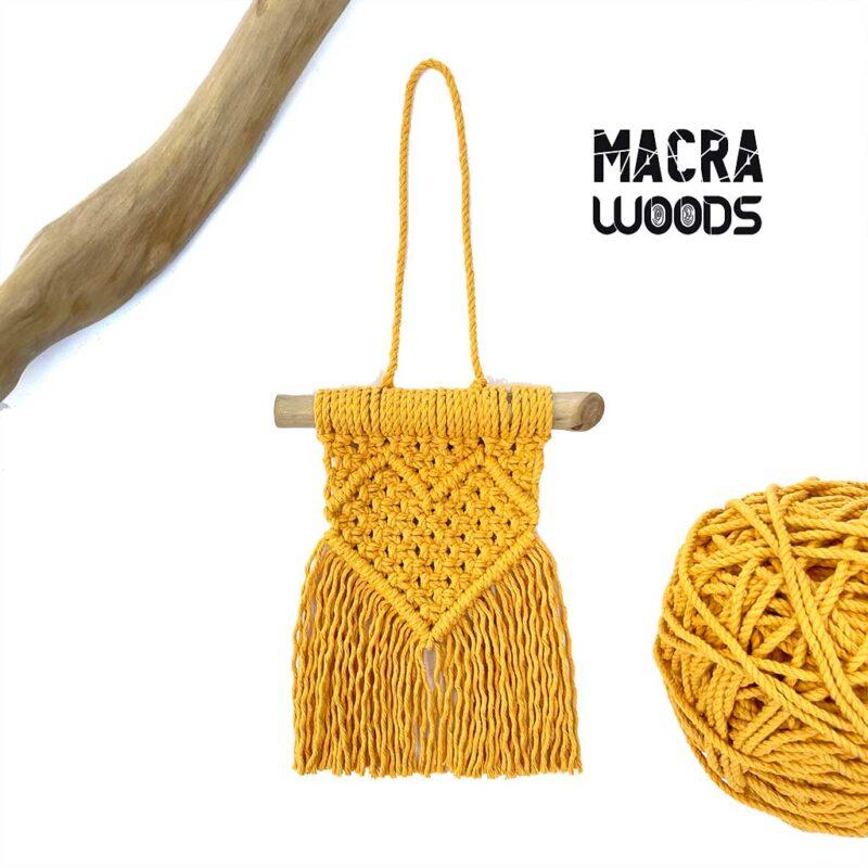 Colgante pequeño – 100% algodón – MacraWoods