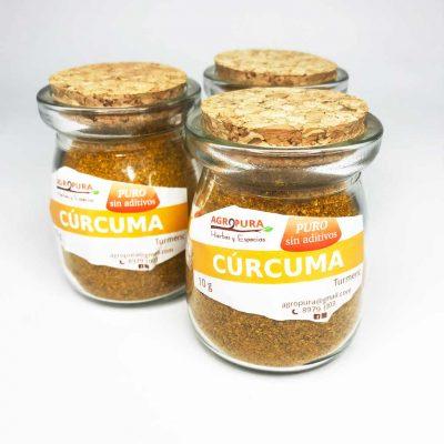 Cúrcuma – Especia pura en polvo – 36g – Agropura