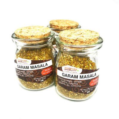 Garam Masala – Condimento puro en polvo – 38g – Agropura