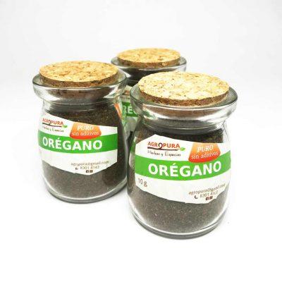 Orégano – Hierba pura en polvo – 18g – Agropura
