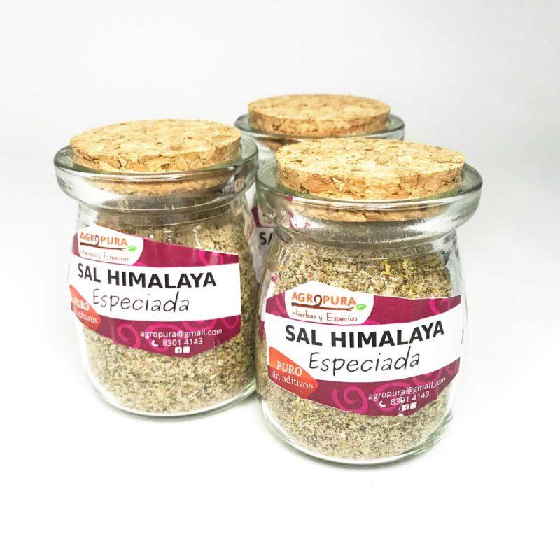 Sal Himalaya Especiada – Condimento puro en polvo – 70g – Agropura