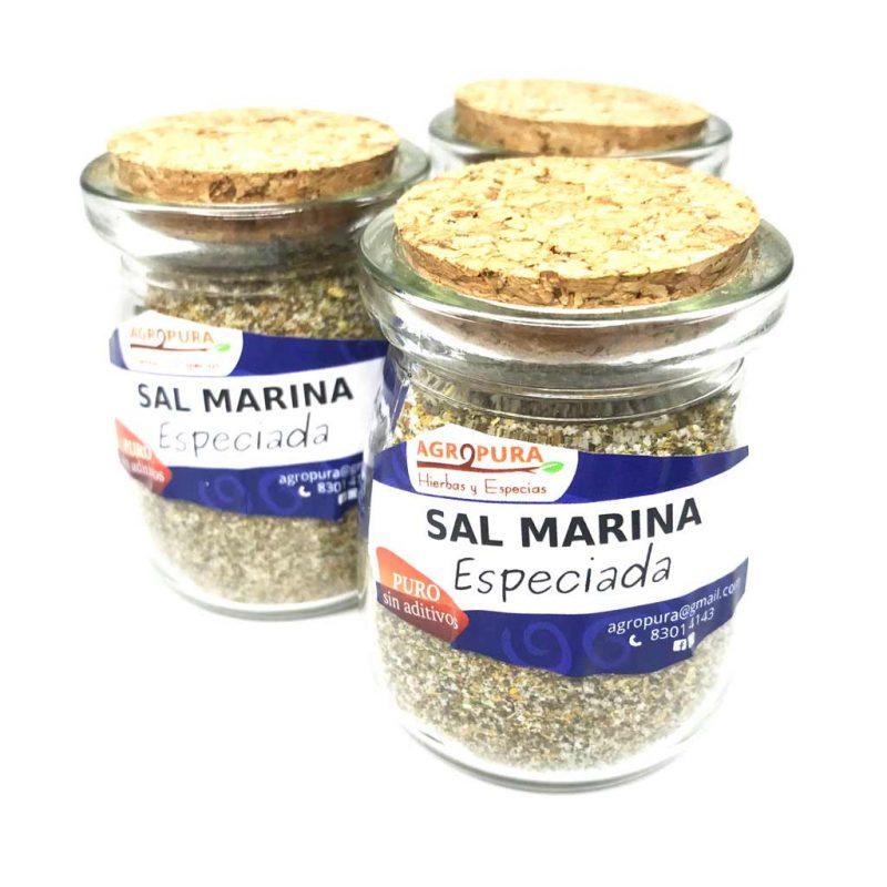 Sal Marina Especiada – Condimento puro en polvo – 70g – Agropura
