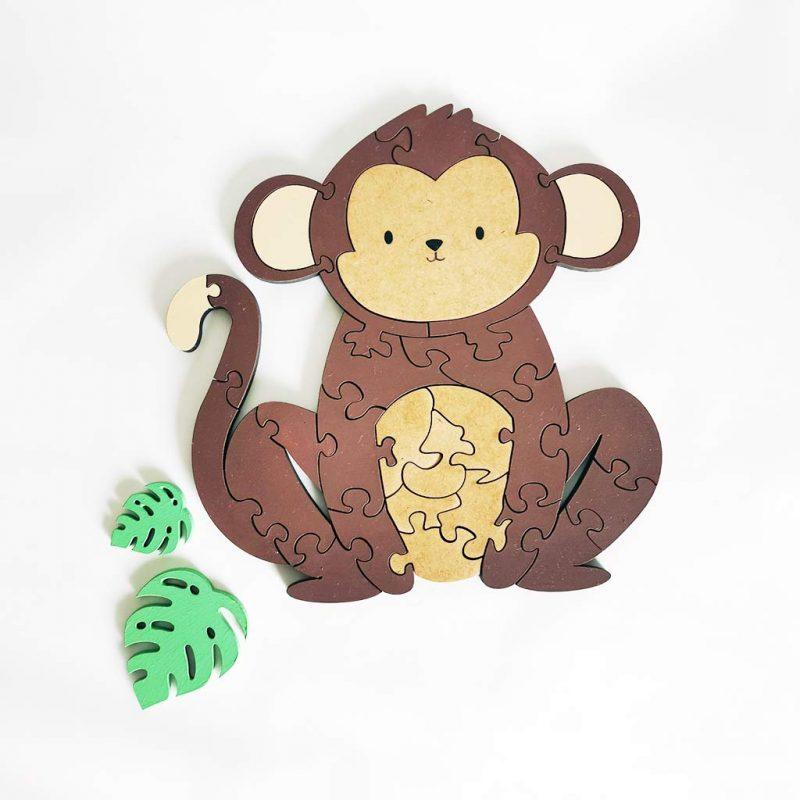 Rompecabezas Monito – YoYo Wood Toys
