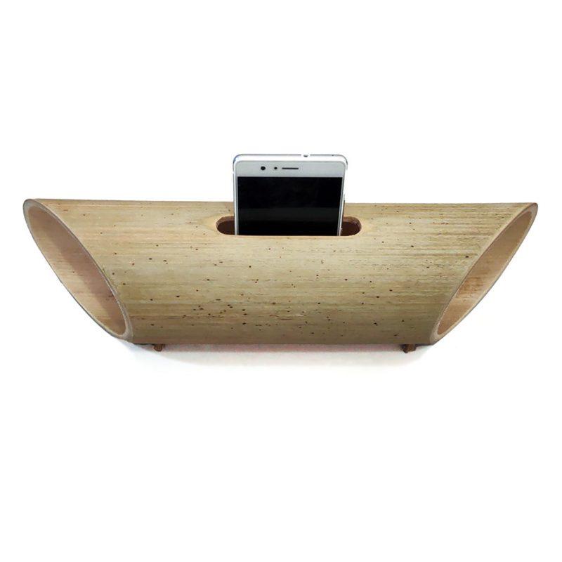 Parlante Amplificador de Bambú – Altavoz – Sonido hasta 4 veces más fuerte