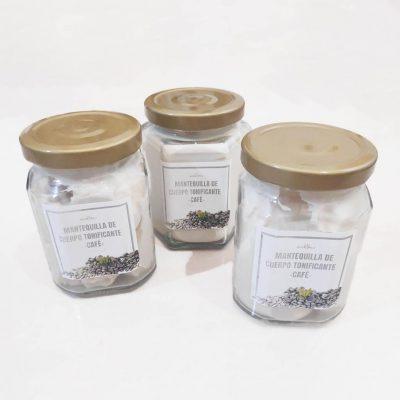 Mantequilla de Cuerpo de Café tonificante – para Celulitis y más – Jumbo 140g