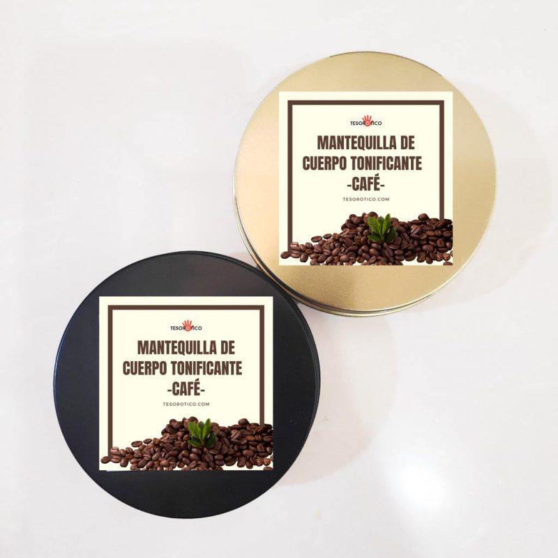 Mantequilla de Cuerpo de Café tonificante – para Celulitis y más – 75g